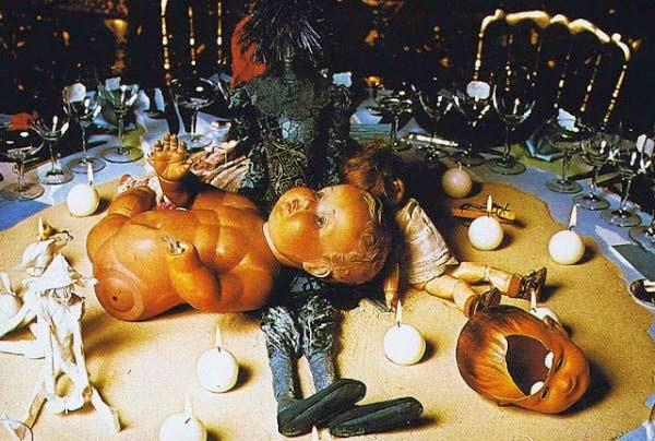 The Rothschild Illuminati Ball in 1972 (11)