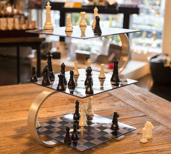 Брэдли Любящий: Великий обман человечества — Конец игры Начало 3d-chess