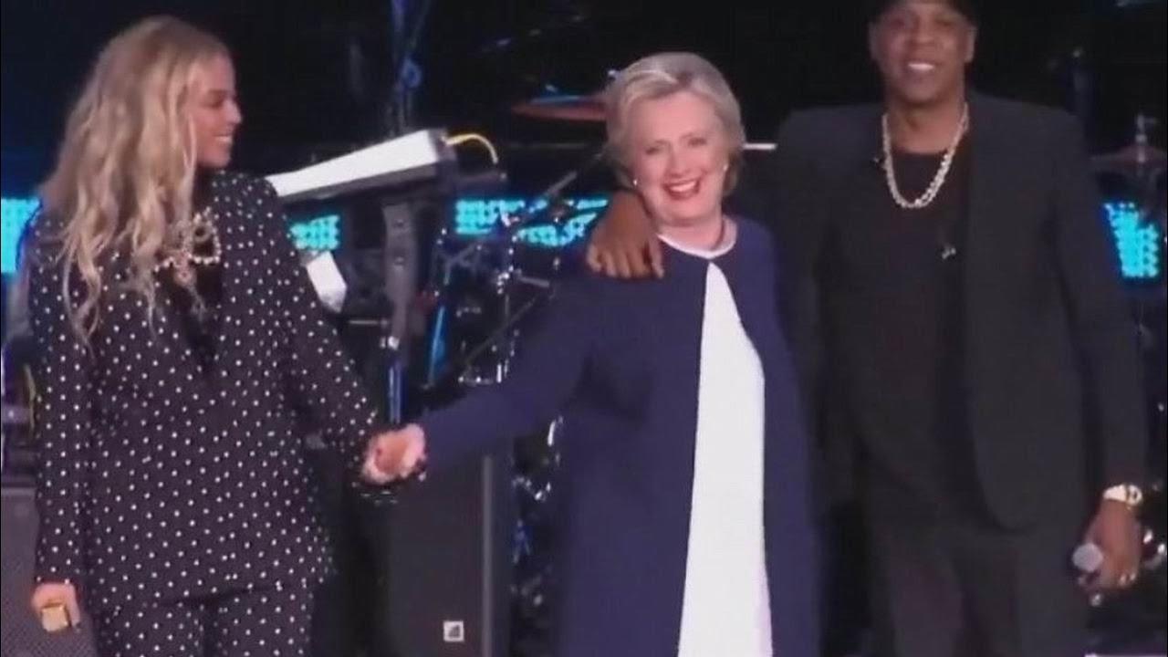 Брэдли Любящий -  МОЙ ОТВЕТ НА КОММЕНТАРИЙ ЧАРЛЬЗА Hillary-jay-z-and-beyonce
