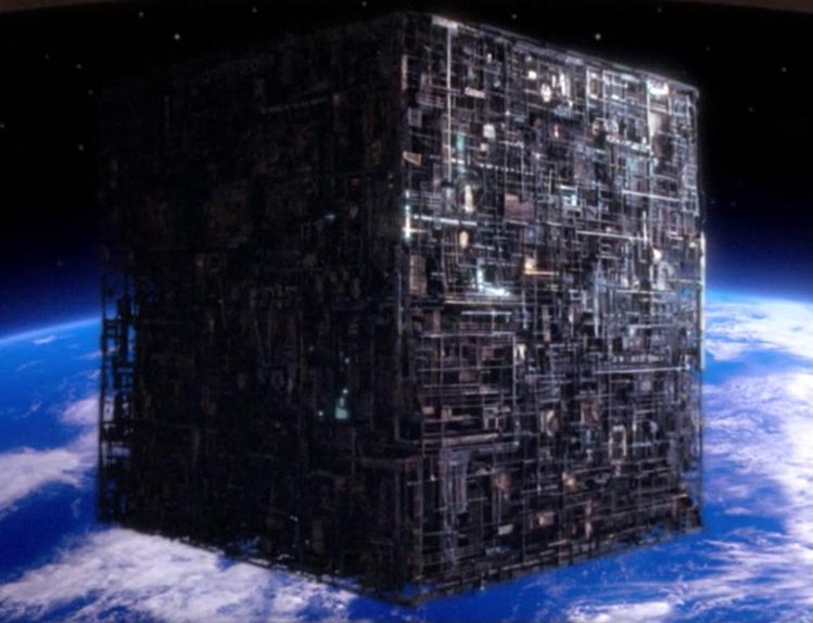 Брэдли Любящий - ИИ - это следующий И последний шаг в управлении разумом Borg-cube