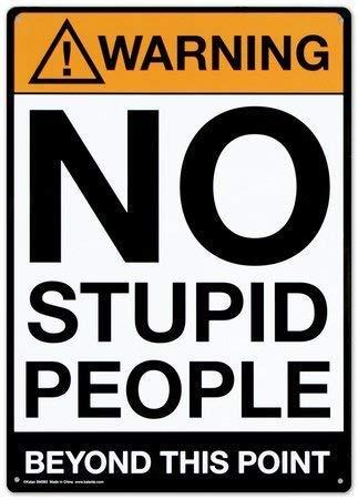 Брэдли Любящий -   МАТЕМАТИКА, ЛОГИКА, ФЕЙКОВЫЕ НОВОСТИ И ПРОЧЕЕ   Stupid-people